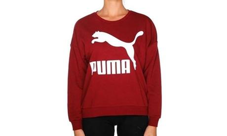 Sudadera con el clásico logotipo de Puma para mujer