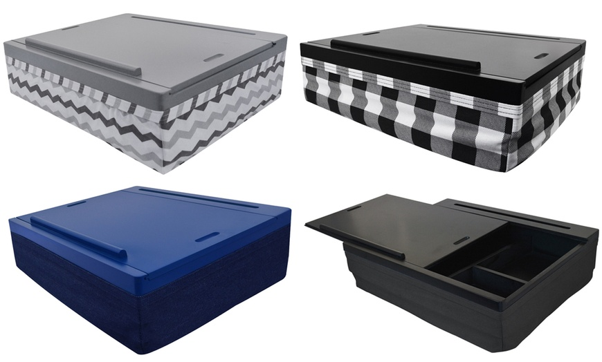 Icozy Lap Desk Groupon, Icozy Lap Desk With Storage Compartments