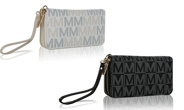 MKF Collection by Mia K. Farrow Signature M Wallet
