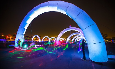 One or Two Entries to Electric Run Plus Glow Package on Saturday, August 9 (Up to 40% Off)