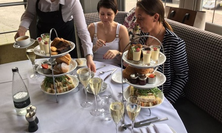 Sparkling Afternoon Tea for Two or Four at The Bridge Street Lounge And Grill (Up to 43% Off)