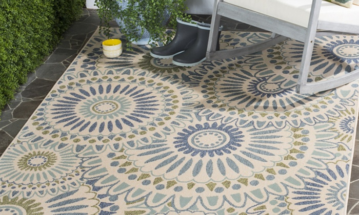 Safavieh Veranda Indoor Outdoor 5x7 Rug Groupon