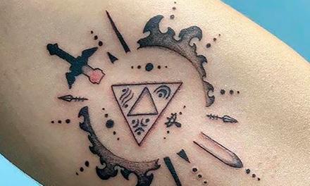 Paga 19,95€ por un descuento de 100€ en un tatuaje a color o en negro de un tamaño mínimo de 6x10 cm con D. Cia