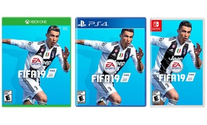 FIFA 19 Standard Edition for Xbox, PlayStation 4, or Nintendo Switch