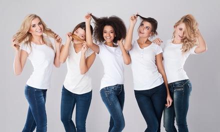 Hair styling con taglio, piega e colore