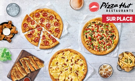 1 pizza achetée = 1 pizza offerte, dans les 15 restaurants Pizza Hut participants à 1 €