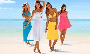 Robe de plage tendance 4en1