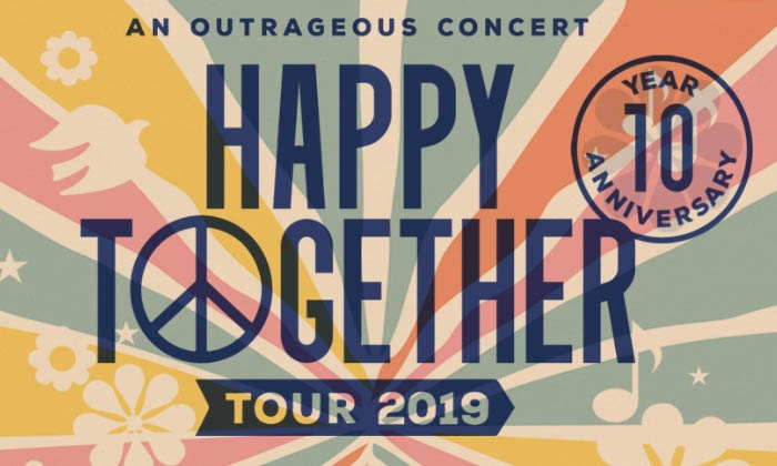 Happy Together Tour Feat The Turtles Chuck Negron Gary Puckett The Union Gap And More On June 4 At 8 Pm