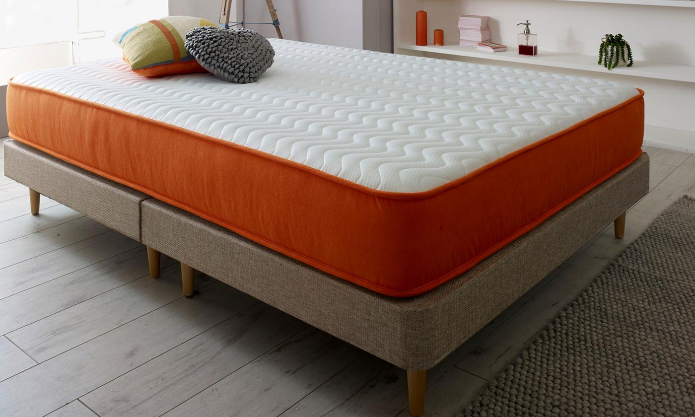 Modern Bonnell Sprung Memory Foam Mattress from £75 (76% OFF)