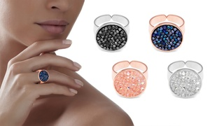 Bague« cristal Rocks »Swarovski ®