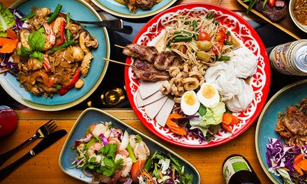ThreeCourse Northern Thai or Isan Feast with Wine $45, 4 $89 or 6 People $125 at Boos Kitchen Up to $273