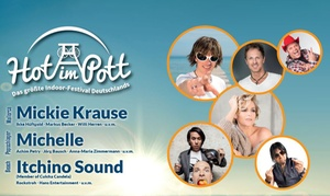 Hot im Pott - Das größte Indoor-Festival Deutschlands: Hot im Pott – Indoor-Party-Festival am 17.12.2016 ab 16 Uhr in der Turbinenhalle Oberhausen (bis zu 50% sparen)