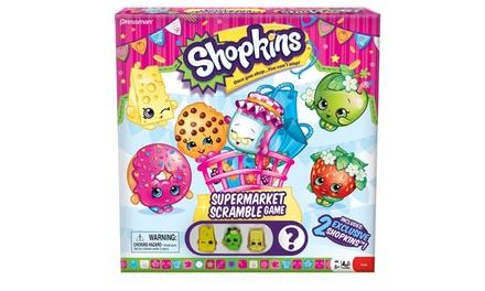 Shopkins supermarktbordspel Scramble
