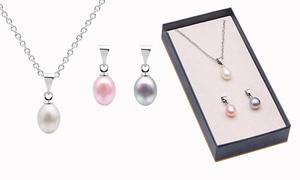 Pendentifs perles d'eau douce
