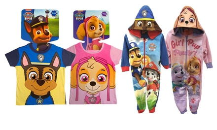 Paw PatrolThemed TShirt, Onesie or Hat and Gloves Set