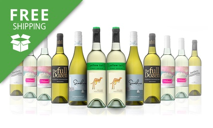 Free Shipping: $69 for a Mixed Case of White Wines Including Yellow Tail Pinot Grigio Don't Pay $189