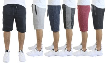 Men's Slim-Fit Jogger Shorts (S-2XL), Multiple Styles Available)