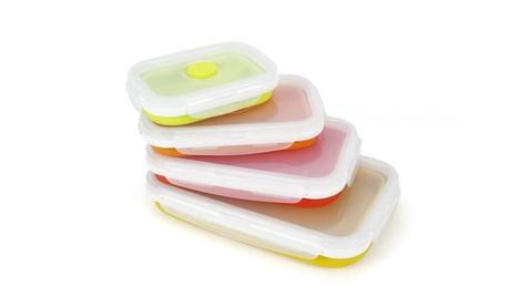 Pack de 4 fiambreras de silicona Beprochef