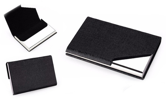 RFID Security Wallet Card Holder | Groupon