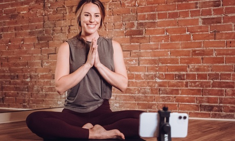 Unlimited On-Demand or Live Yoga Classes for One or Three Months from Amana Yoga Studio (Up to 66% Off) photo