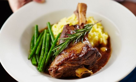 Two-Course Meal with Wine for Two or Four at The Canal Turn (Up to 51% Off)