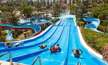 Entrada general al parque acuático Aquamijas para 1, 2, 4, 6 u 8 personas desde 16 € en Aquamijas