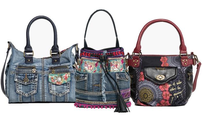 Portefeuilles et sacs Desigual, plusieurs modèles disponibles, dès 49,90€ (jusqu'à 22% de réduction)