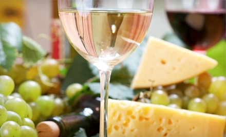Custom Tasting for Two or Regional Wine-and-Cheese Pairing Class for Up to 10 at Blackbird Wine Shop (Half Off)