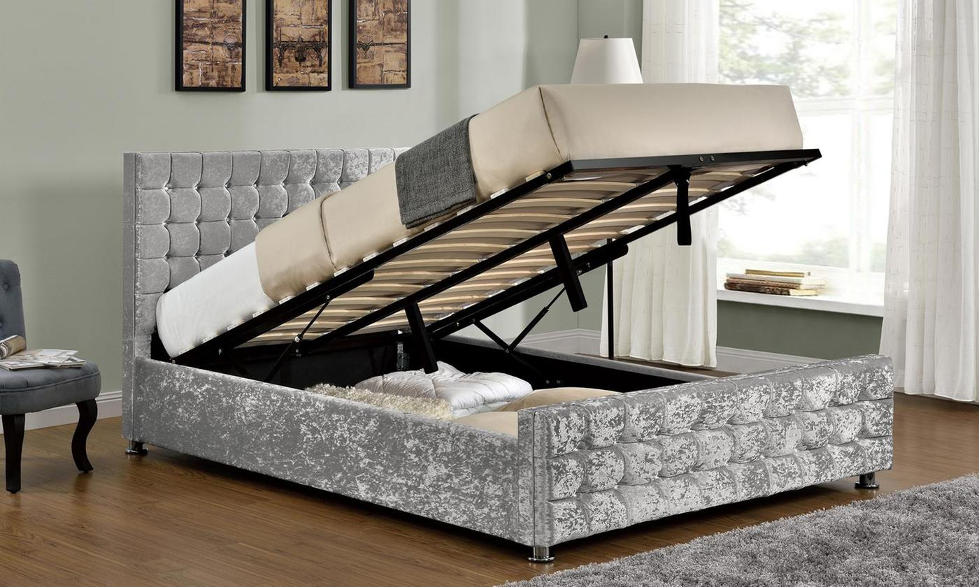 Baratheon Ottoman Bed with Optional Mattress from £265 (46% OFF)
