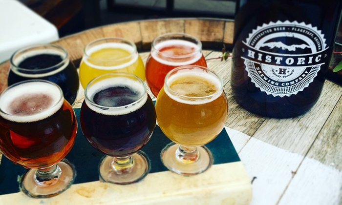 Historic Barrel + Bottle House - South Side: Wine and Beer Flights for Two or Four at Historic Barrel + Bottle House (Up to 33% Off)