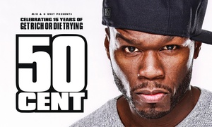 50 Cent's 15th Anniversary Tour for Get Rich or Die Tryin': 50 Cent at The Crescent, Parramatta: Tickets from $99, 9 February 2018