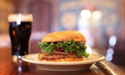$16 for Two Craft Beers and Two Sandwiches or Flatbreads at The Landing on Layton (Up to $31.90 Value)