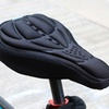 Trend Matters Cushioned Bike Seat Cover with Free Bike Lock (2-Pc.)