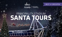 Principality Stadium Santa Tours, Adult, Concession and Child Tickets, 1 - 24 December 2016, Cardiff