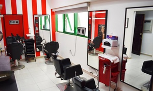 Future Generation International Ladies Salon: Hot Oil Hair Treatment and Blow-Dry, or Hair Straightening Treatment at Future Generation International Ladies Salon
