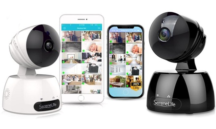 SereneLife 720p HD WiFi IP Camera with Remote App Control