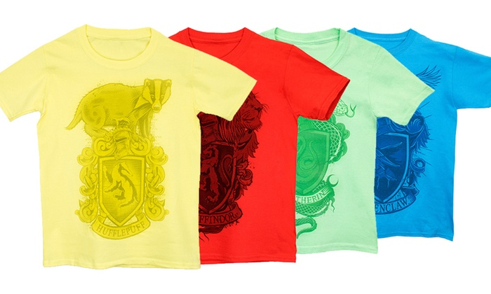 Kids Harry Potter House T Shirts Groupon Goods