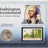 Washington Bicentennial Coin and Stamp Collection