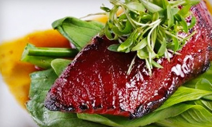 The Red Crane - Cupertino: $15 for $30 Worth of Asian Cuisine and Drinks at The Red Crane in Cupertino