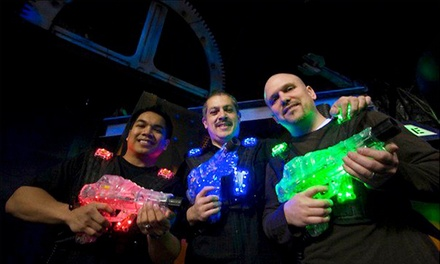 Three Games of Laser Tag or Two All Day Passes for Laser Tag at Lazer Xtreme Family Amusement Center (50% Off)