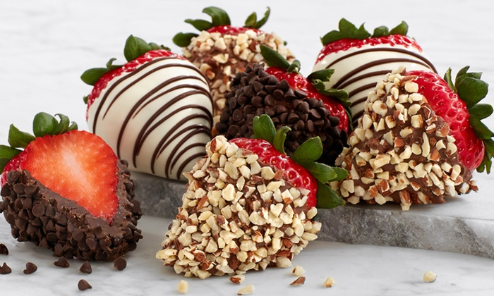 Save 50% on Gourmet Dipped Strawberries and Chocolate Treats from Shari's Berries