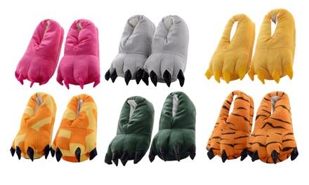 Pantofole fantasia animalier