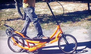 M. Cruz Bicycle Rentals & Segway Tours: $40 for a Half-Day ElliptiGo Rental from M. Cruz Bicycle Rentals & Segway Tours ($80 Value)
