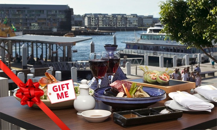Eight-Course Lobster Degustation Menu (From $69) + Glass of Moët (From $88) at Kobe Jones (Up to $700 Value)