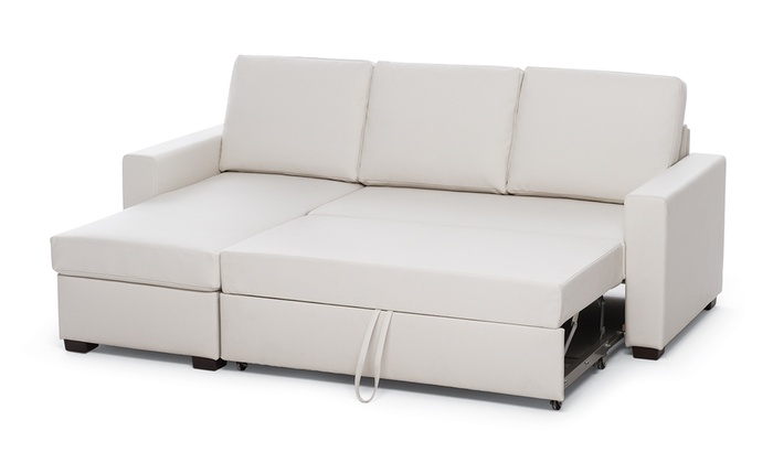 Divano letto in ecopelle | Groupon Goods
