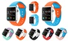 Mix Color Silicone Sport Bands for Apple Watch 1, 2, 3, 4