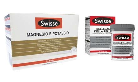Magnesio e potassio forte, Magnesio e potassio o Swisse Bellezza della pelle disponibili in formati diversi
