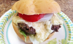 American Steamed: Steamed Cheeseburgers, Sandwiches, and Sides at American Steamed (Up to 40% Off)