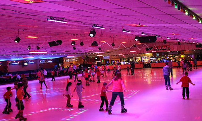 Roller Kingdom - Multiple Locations: Skating, Laser Tag, and Slushies Four at Roller Kingdom (Up to 66% Off)