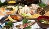 福岡県/西中洲 ≪比内地鶏の手羽先・きりたんぽ鍋など全8品コース≫